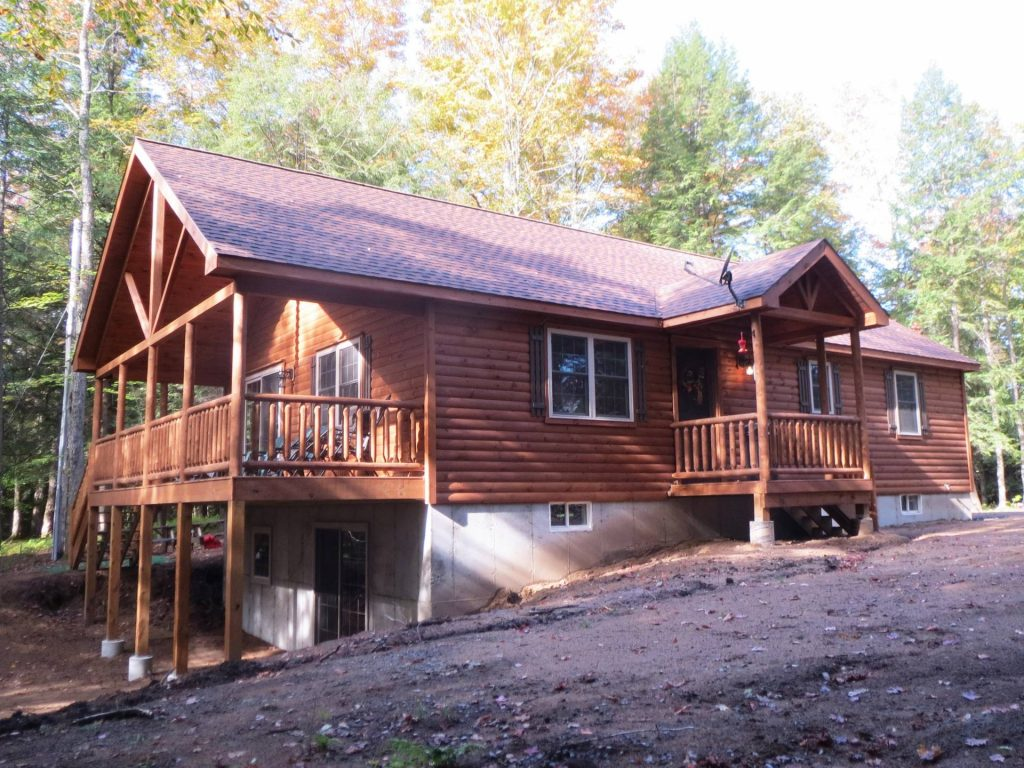 Double Module Settler Log Cabins Manufactured In Pa