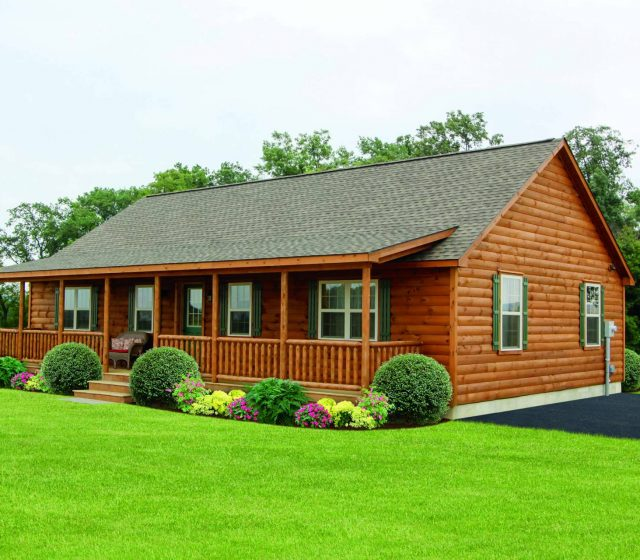 residential one story cabin