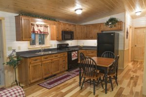 Residential Log Home Kitchens