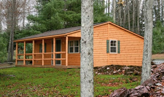 Lincoln Modular Log Cabin Home