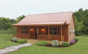 cabin metal roofing options