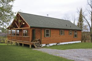 small settler log cabin builders in pa