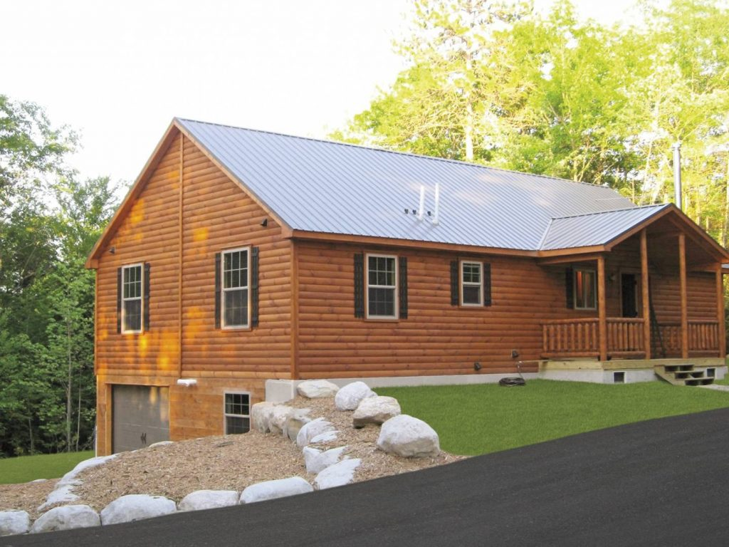 Pioneer log cabins manufactured in pa cozy cabins Modular home in pa