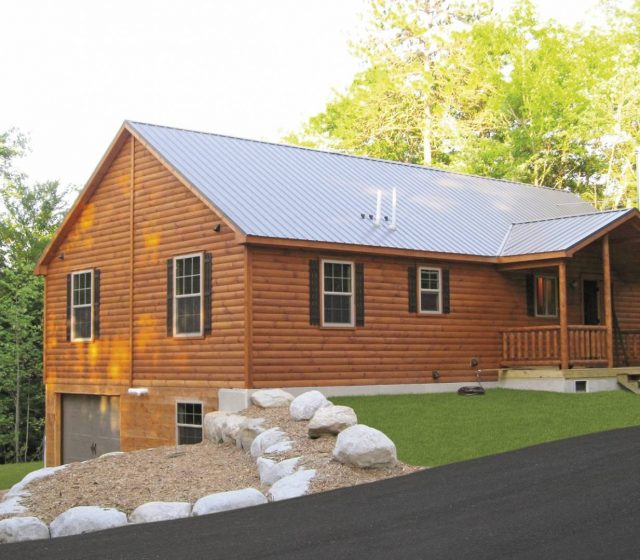 Manufactured Log Homes from PA