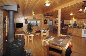 Log Cabin Interior Floor Plan
