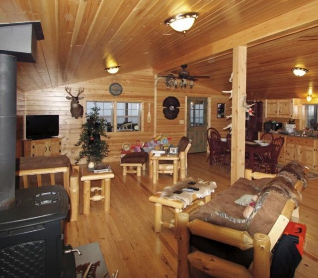 Log Cabin Interior Floor Plan