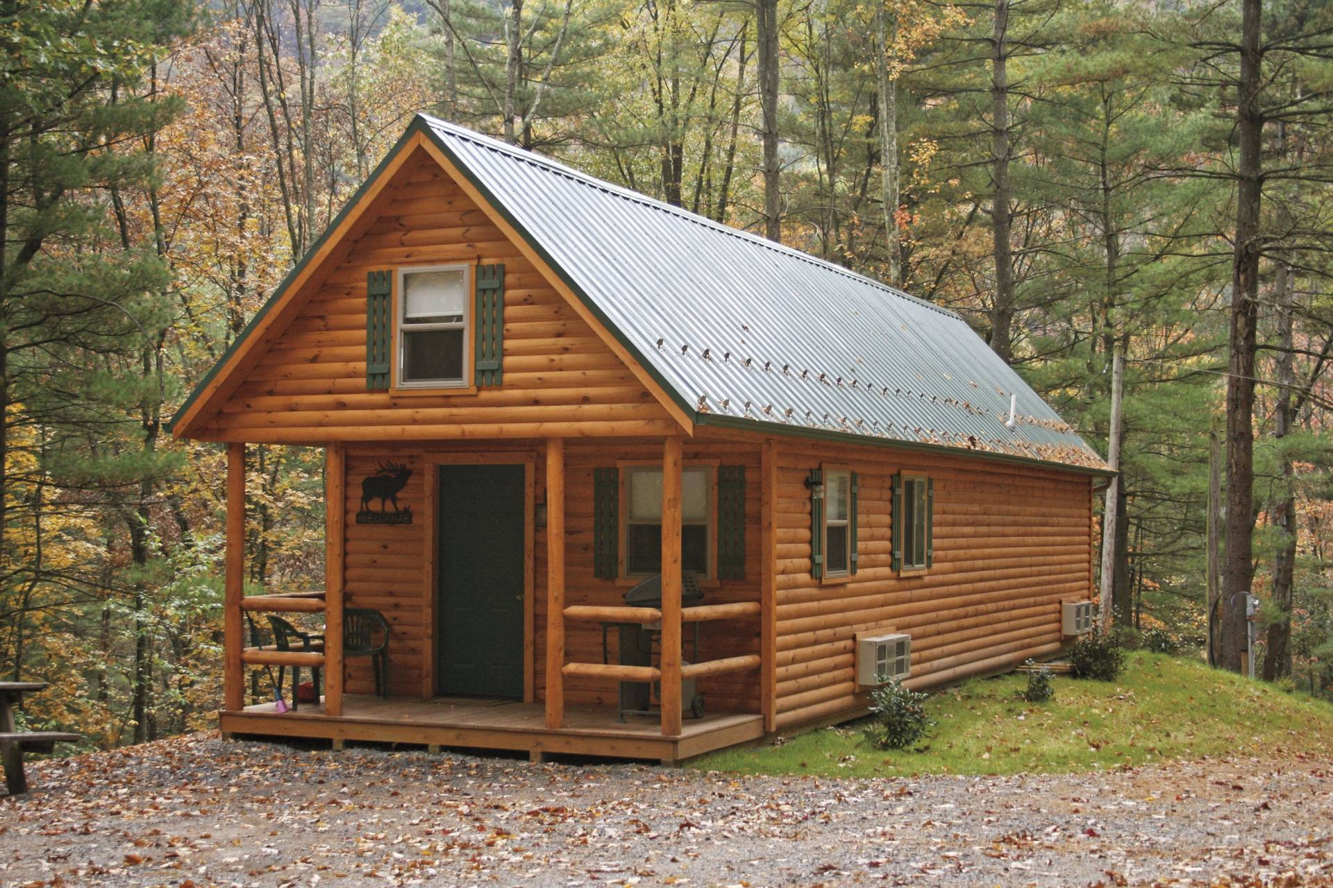 Adirondack tiny cabins manufactured in pa cozy cabins for Small cabins and cottages