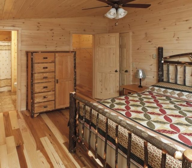Cozy Cabins Log Home Interiors