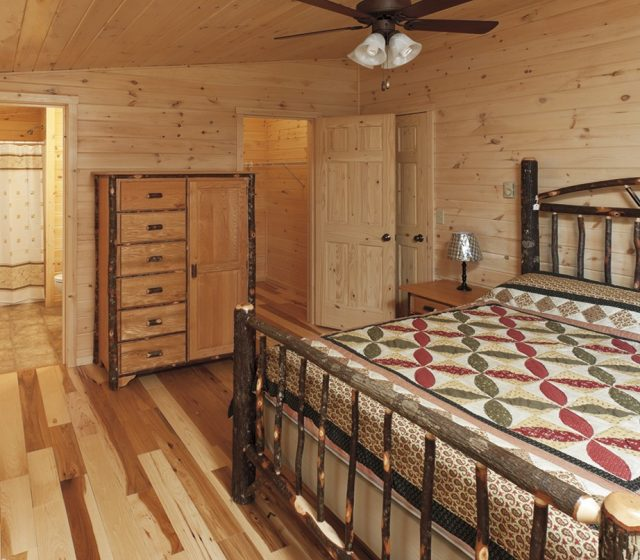 Modular Lincoln Log Home