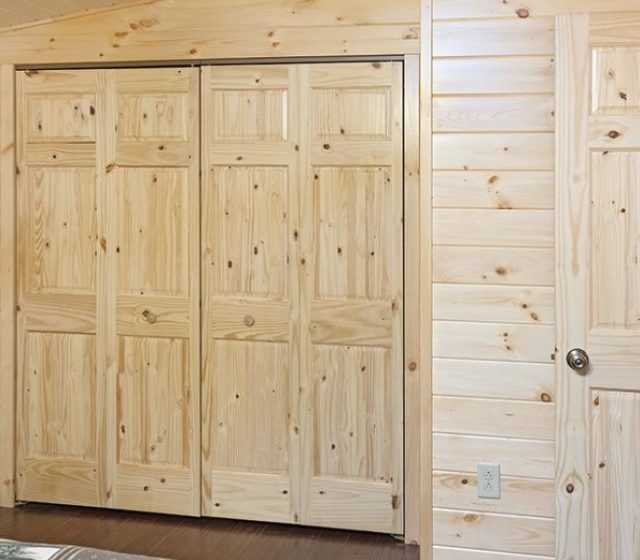 Closets in Log Homes