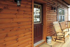 cabin entryway