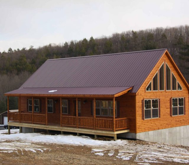 Modular Log Cabin Home in Lehighton, PA