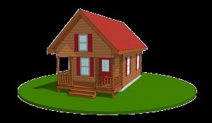 Small Adirondack Log Home
