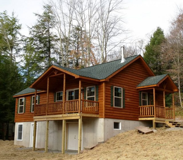 Modular Log Home from PA