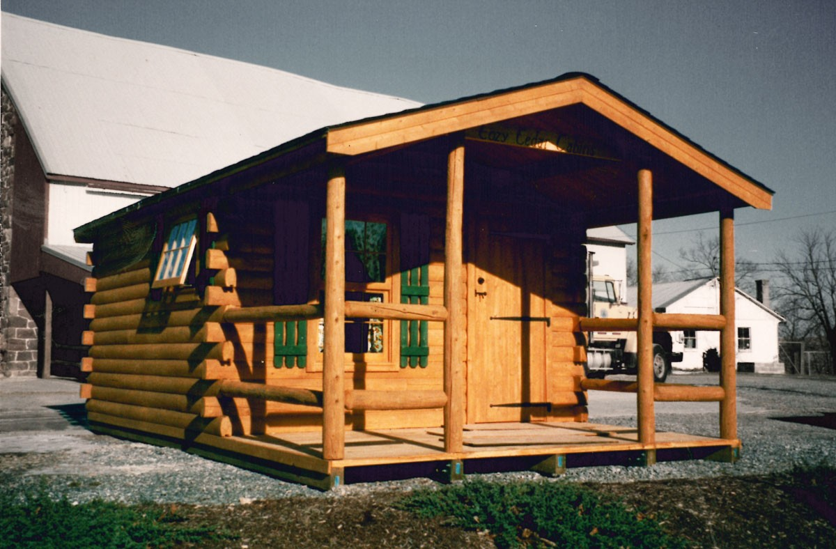 Our story cozy cabins llc located in lancaster pa for Cozy cabins pa