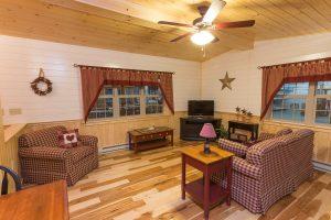 log cabin pa interior living room