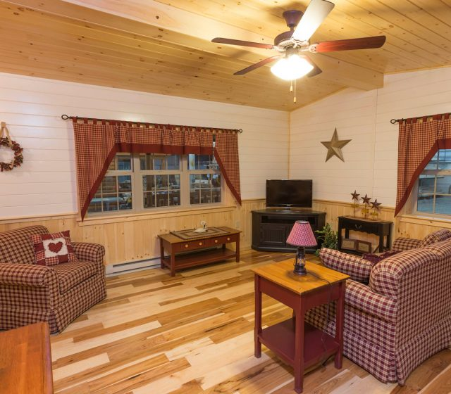 log cabin pa interior living room