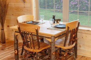 Custom Dining Table for Log Cabin