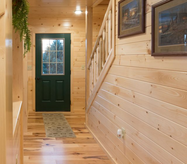 Log Cabin Entryway