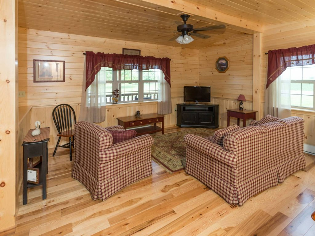 Log cabin interior ideas home floor plans designed in pa for Cozy cabin floor plans