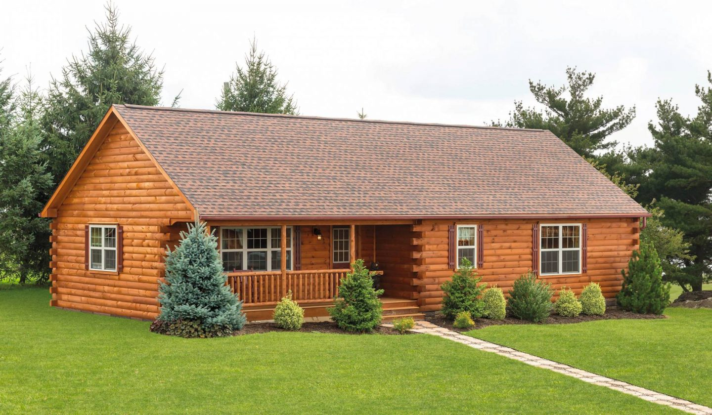Modular log homes tiny cabins manufactured in pa Modular home in pa