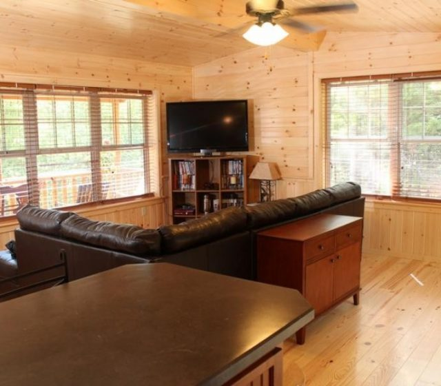 Custom Log Cabin Interior