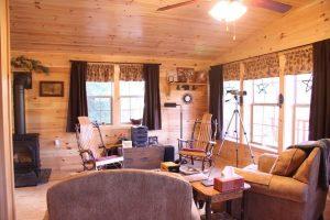 cozy log cabin interior ideas