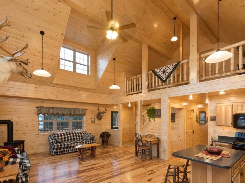Log Cabin Interior Gallery
