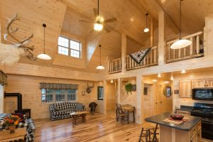 Cabin with Loft and Full Kitchen