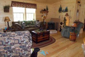 Wooden Floors in Living Room
