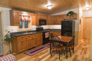Log Home Kitchen and Appliances