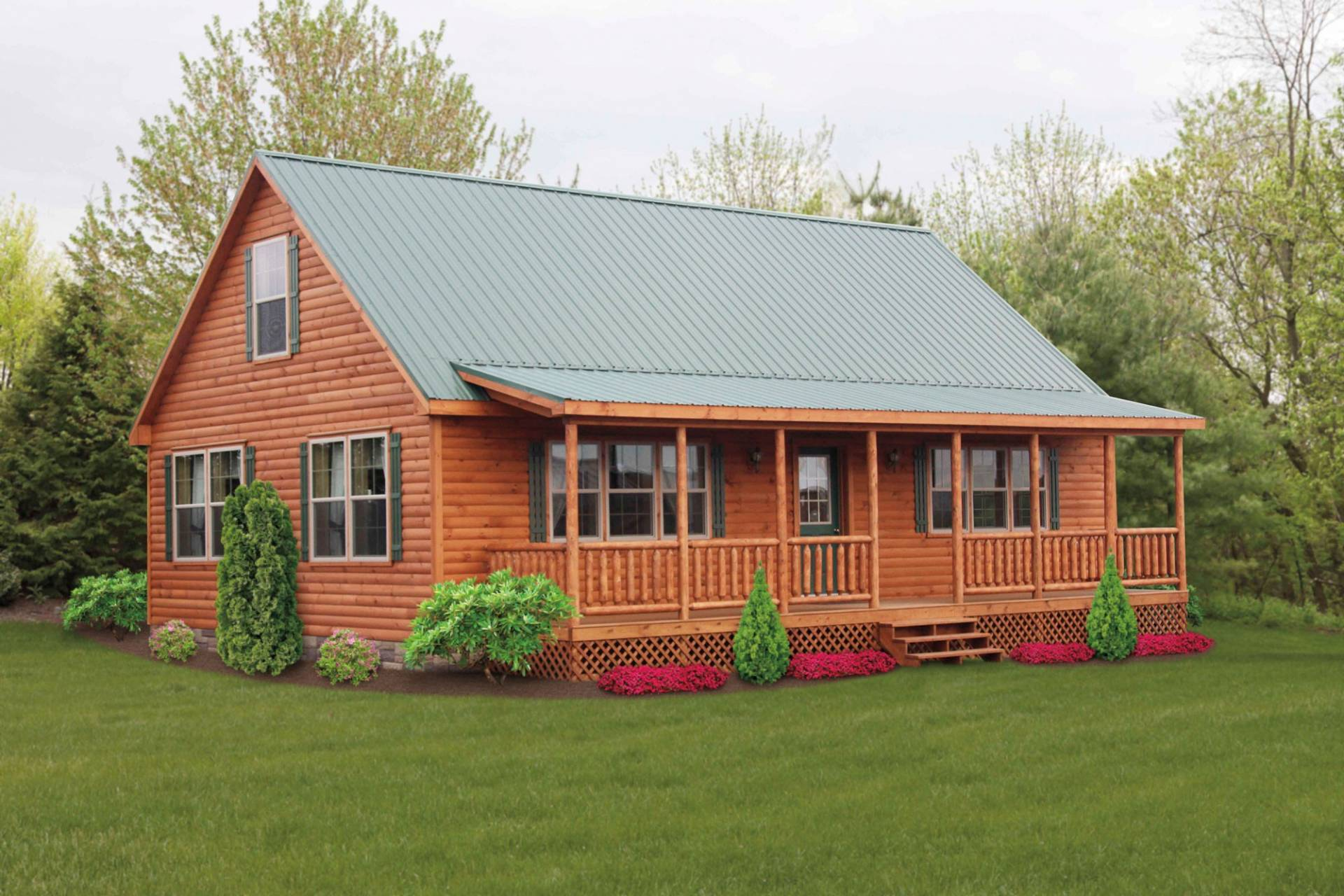 Mountaineer log cabins manufactured in pa cozy cabins for Log cabins homes
