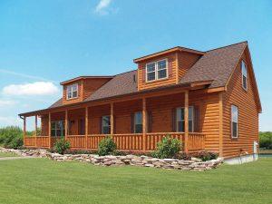 custom built log cabins in PA