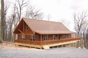 Mountaineer Log Cabin Catawissa, PA