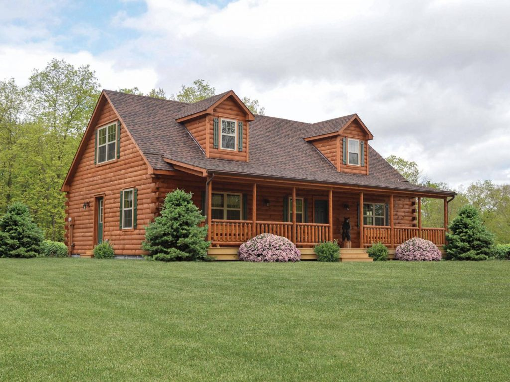 Mountaineer Deluxe Log Home Cozy Cabins Manufactured In Pa