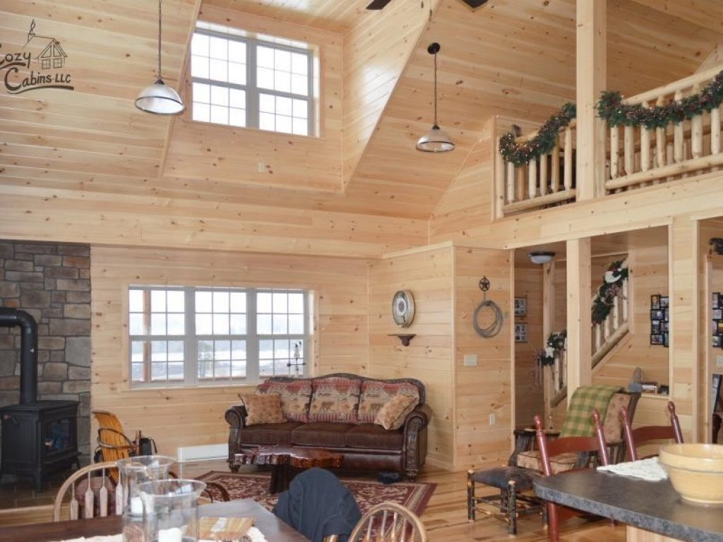 log cabin interior ideas home floor plans designed in pa interior photos of log cabins and homes by cozy cabins llc check out the options page for inspiration to customize your own log cabin