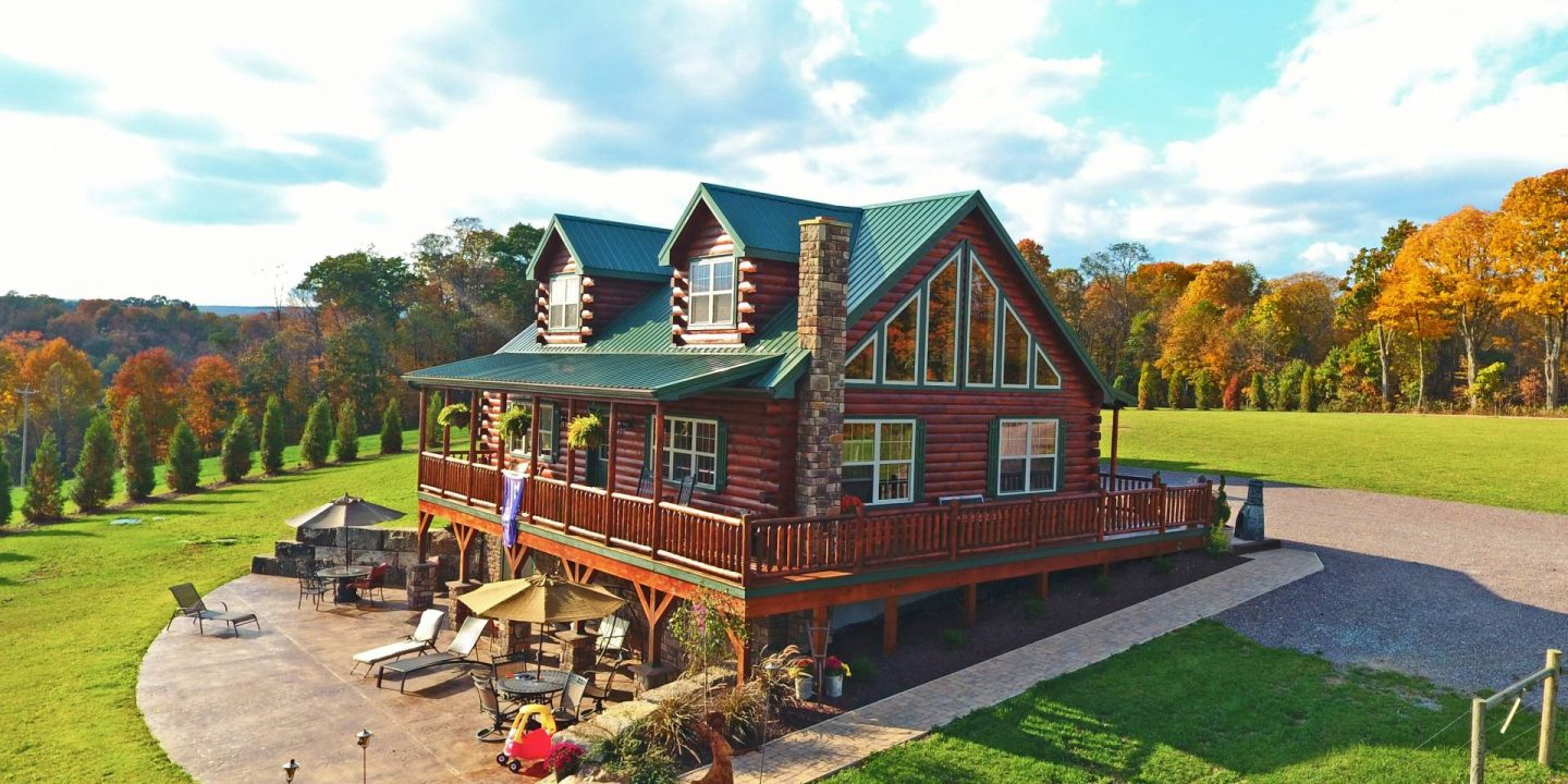 Log Cabins for Residential Uses