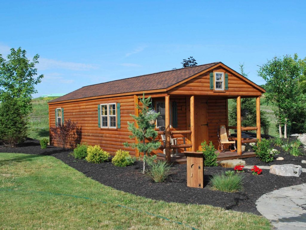 settler tiny log cabins manufactured in pa cozy cabins