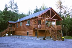 settler log cabins for sale