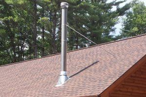 thru-roof chimney
