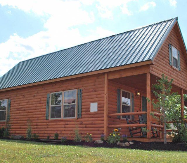 Adirondack Home Exterior