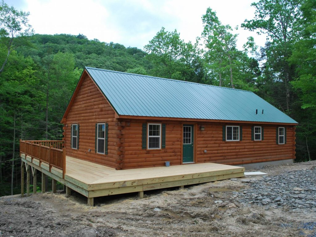 Single wide log cabin joy studio design gallery best Modular home in pa