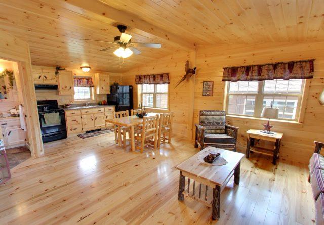 Residential Musketeer Log Cabin Design