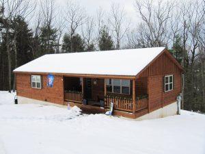 Custom Log Cabin Home Builders in PA