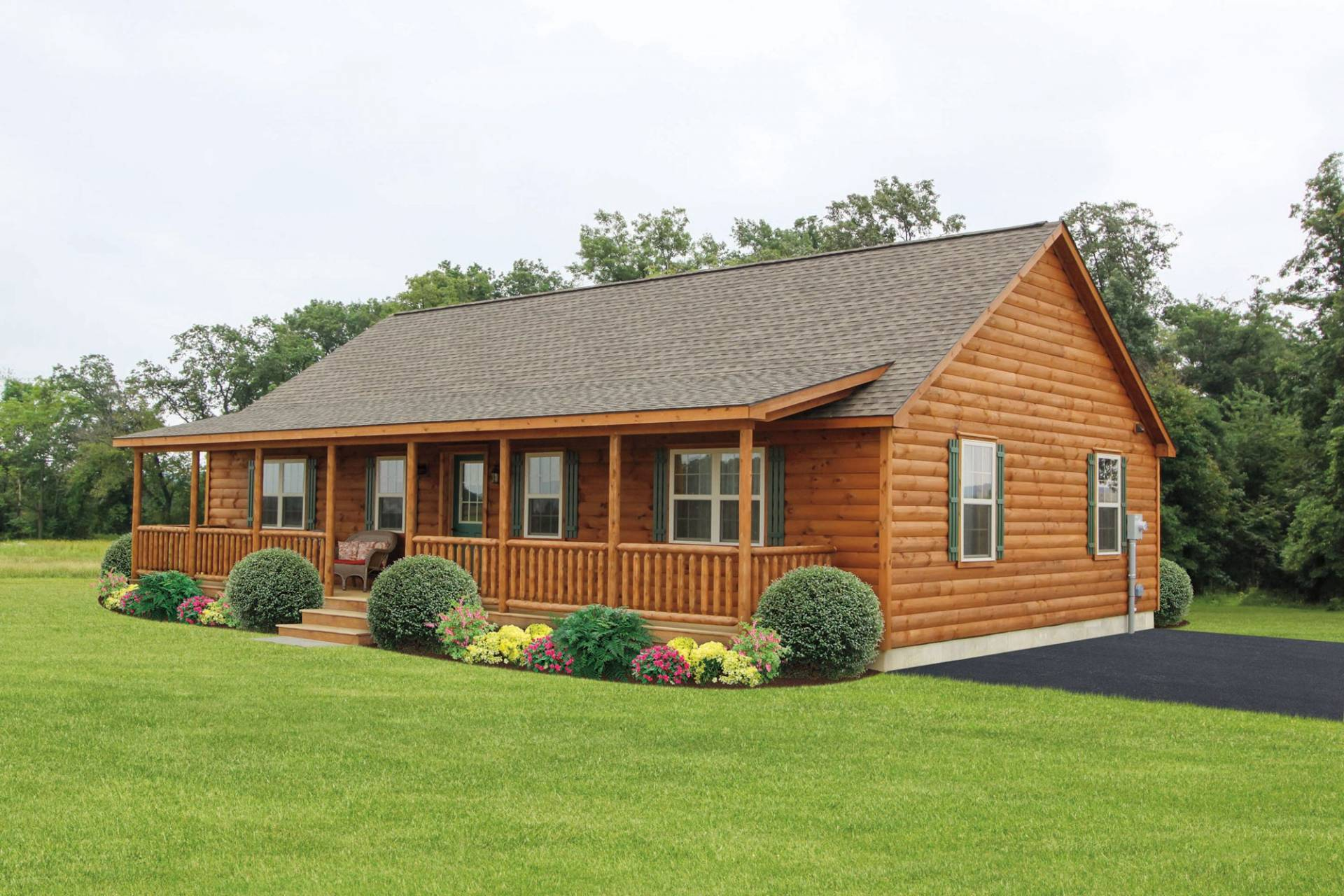 Musketeer log cabins manufactured in pa cozy cabins Modular home in pa