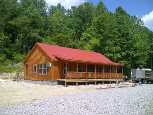 Log Cabin for Camp Store in West Virginia