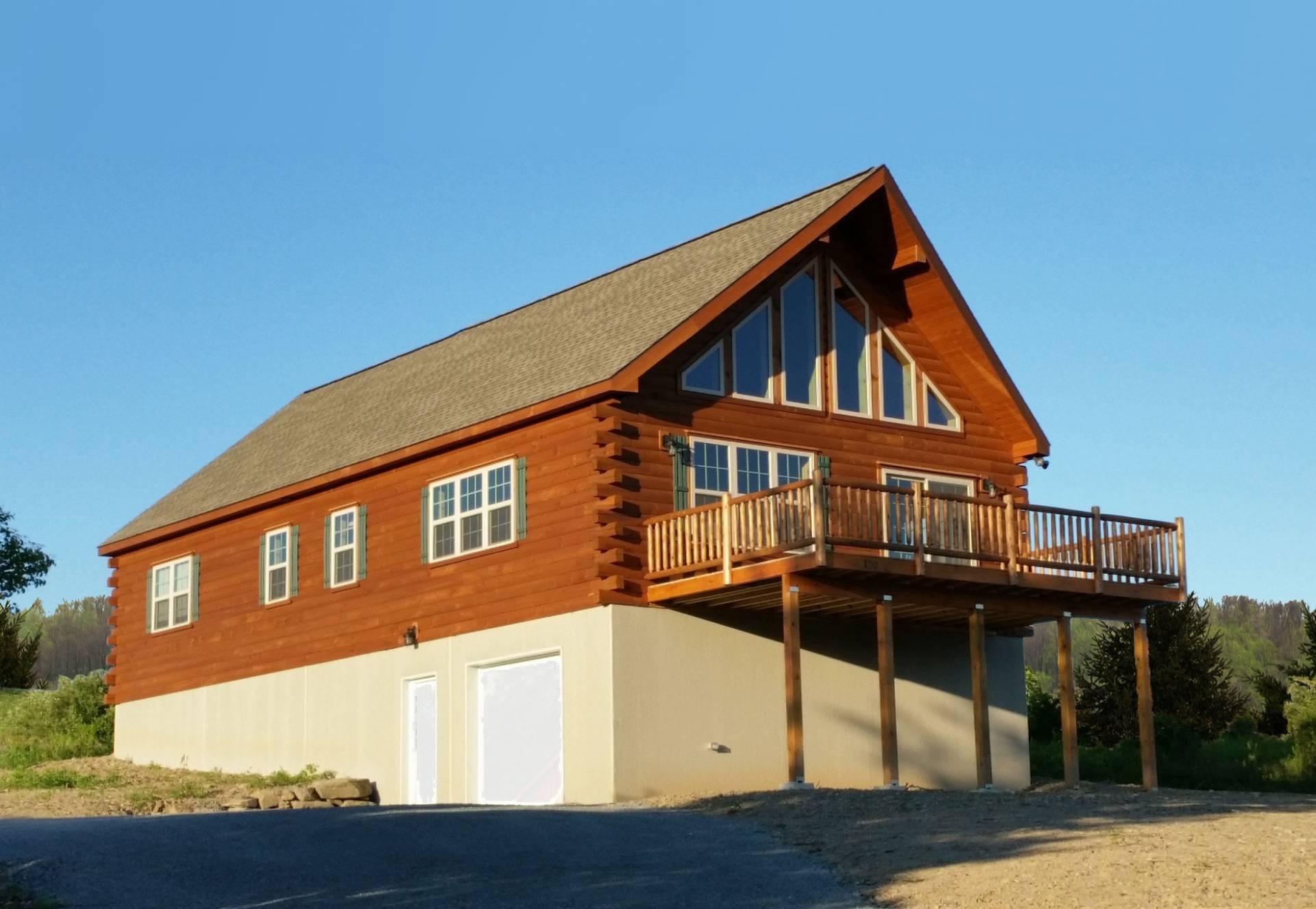 Chalet cozy cabins llc for Chalet manufactured homes