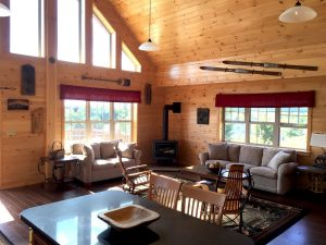 chalet residential modular log home