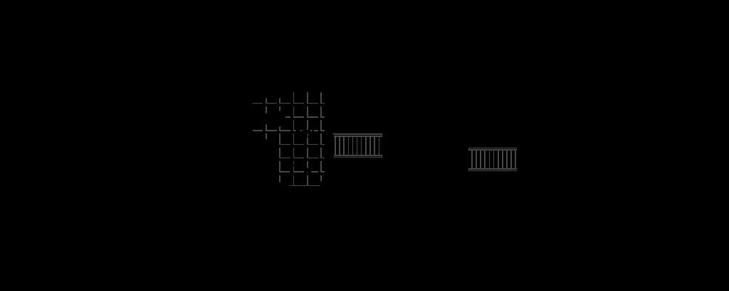 Floor Plan for 15x36 Adirondack Tiny Home