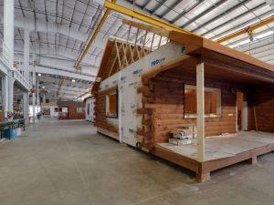 Cozy Cabins Factory Tour